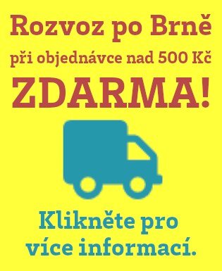 Rozvoz sušeného masa a dalších farmářských pochutin po Brně zdarma.