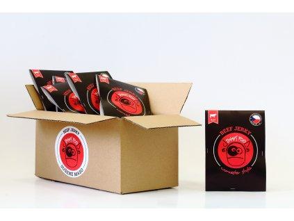 Sušené maso 25 g - worcester hovězí (krabice)