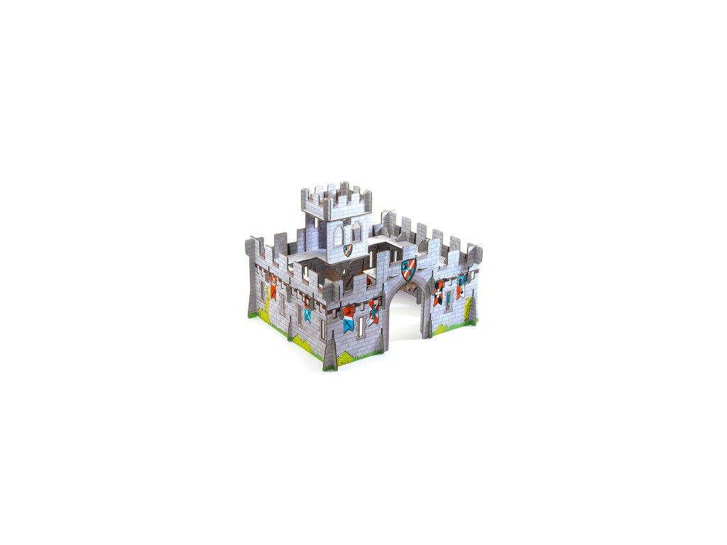 DJECO 3D skládačka - Rytířský hrad