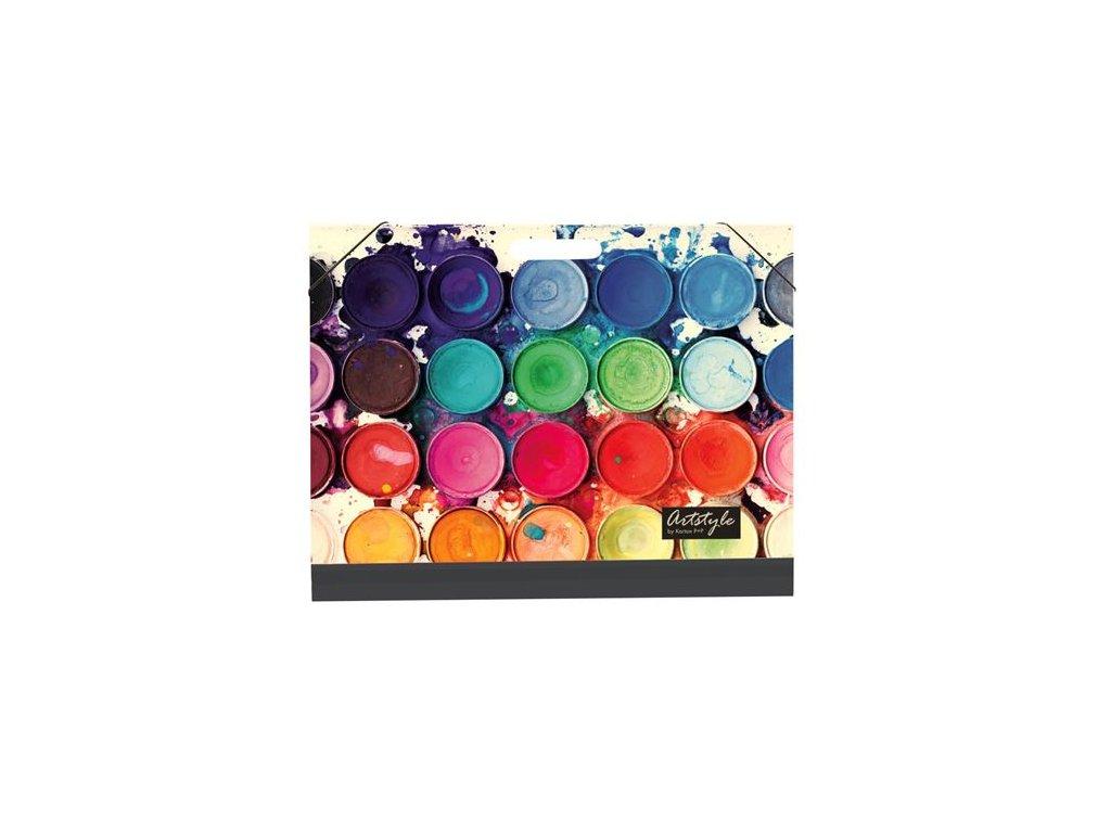 Desky na školní výkresy A3 lamino - barvy