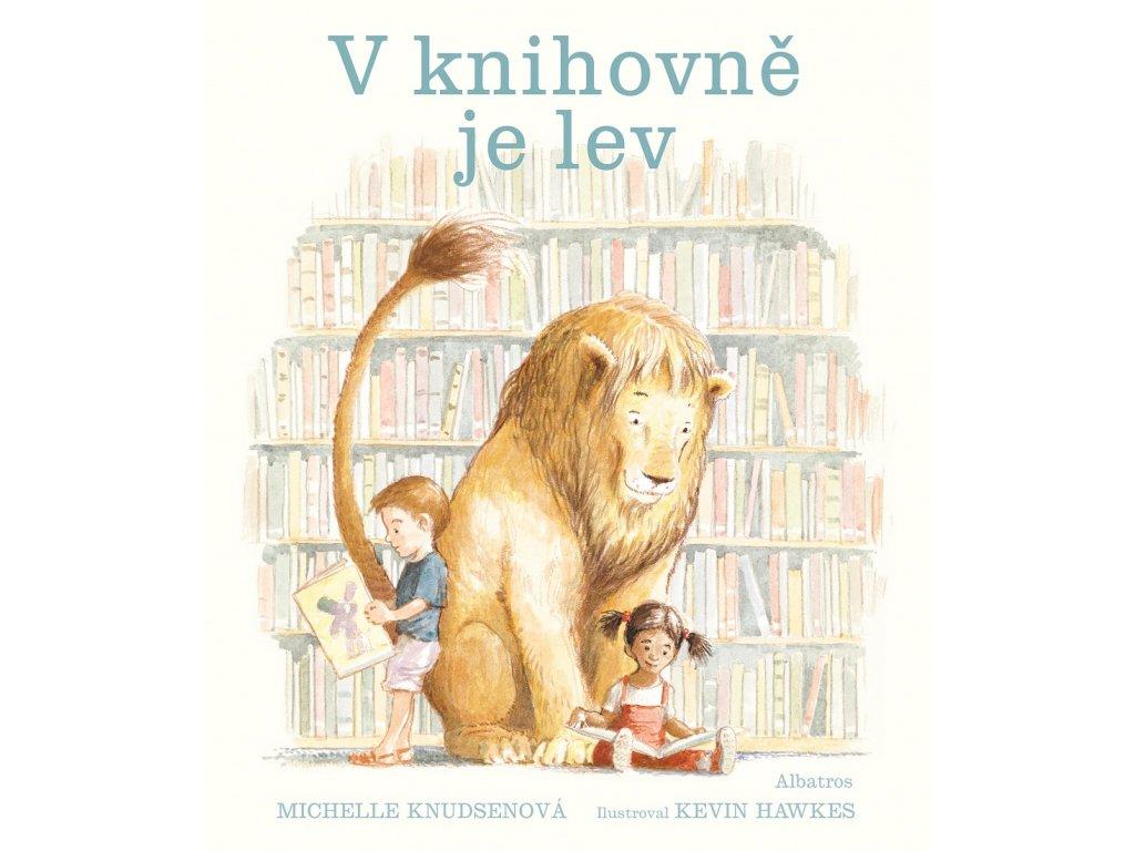 V knihovně je lev