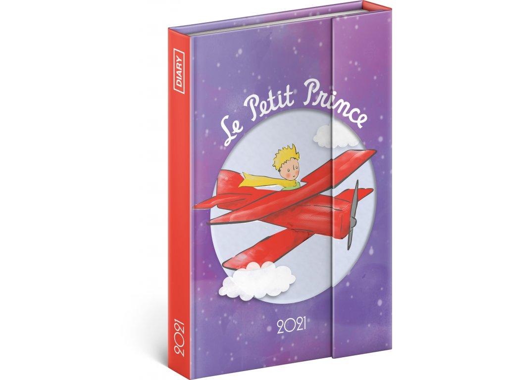 Tydenni magneticky diar Maly princ Letadlo 2021