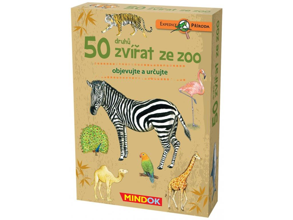 Expedice příroda: 50 druhů zvířat ze ZOO
