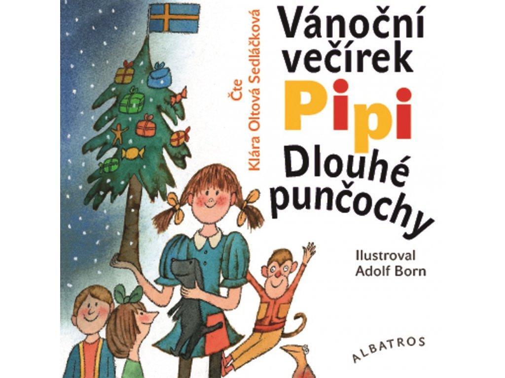 Vánoční večírek Pipi Dlouhé punčochy (audiokniha p