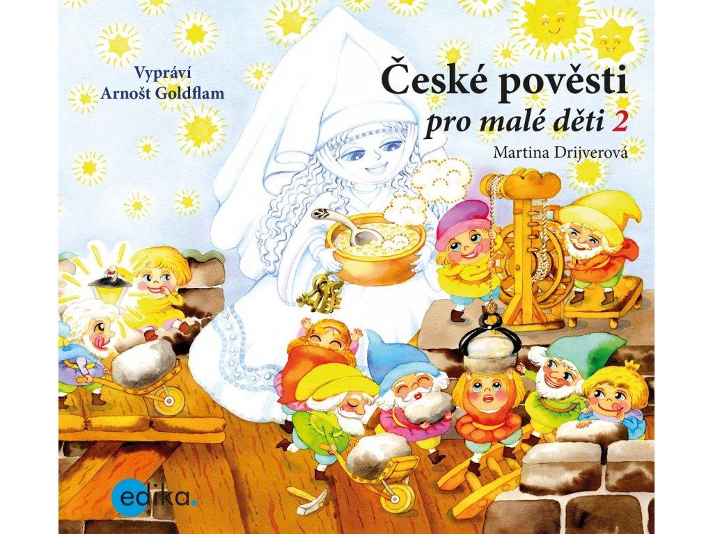 České pověsti pro malé děti 2 (audiokniha pro děti