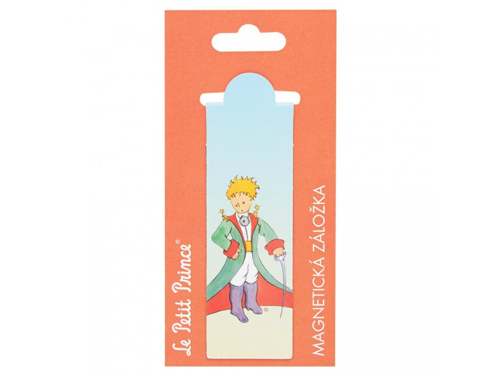 PRESCO GROUP Magnetická záložka Malý princ (Le Petit Prince) - Traveler