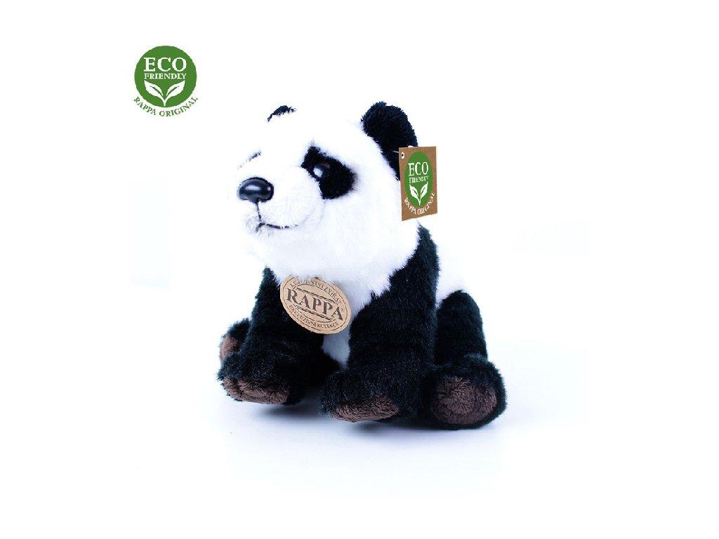 Plyšová panda sedící nebo stojící 22, ECO-FRIENDLY