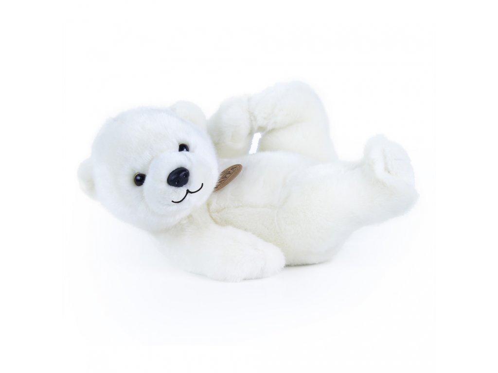 Plyšový medvěd bílý, 25 cm