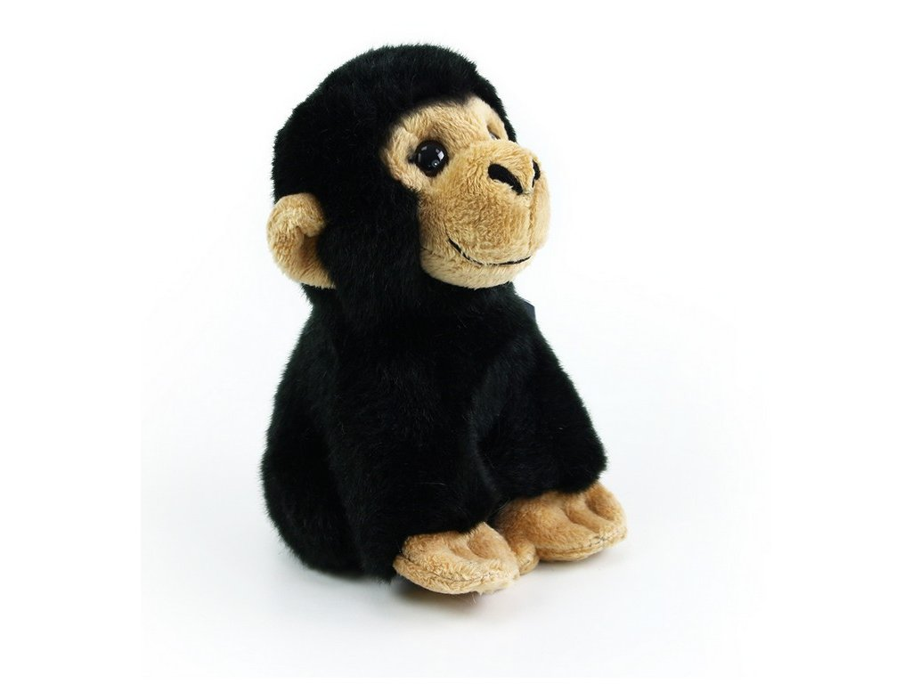 Plyšová opice, 16 cm