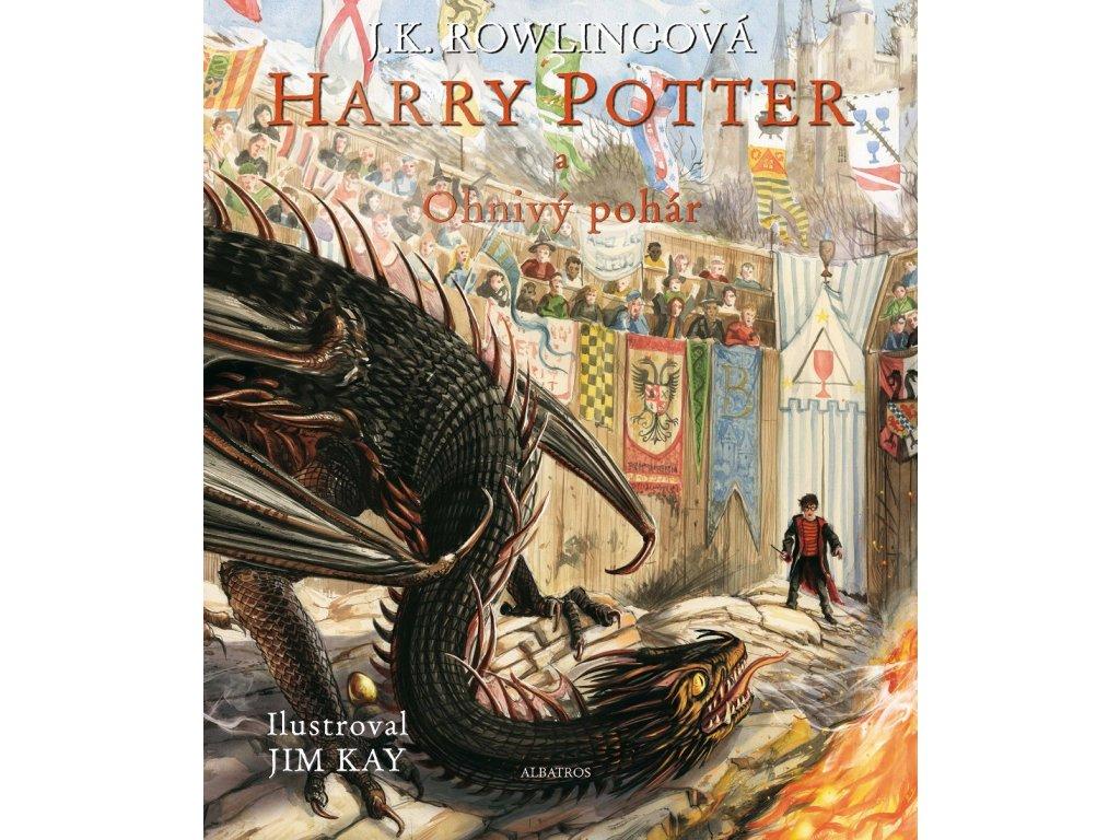 Harry Potter a Ohnivý pohár - ilustrované vydání