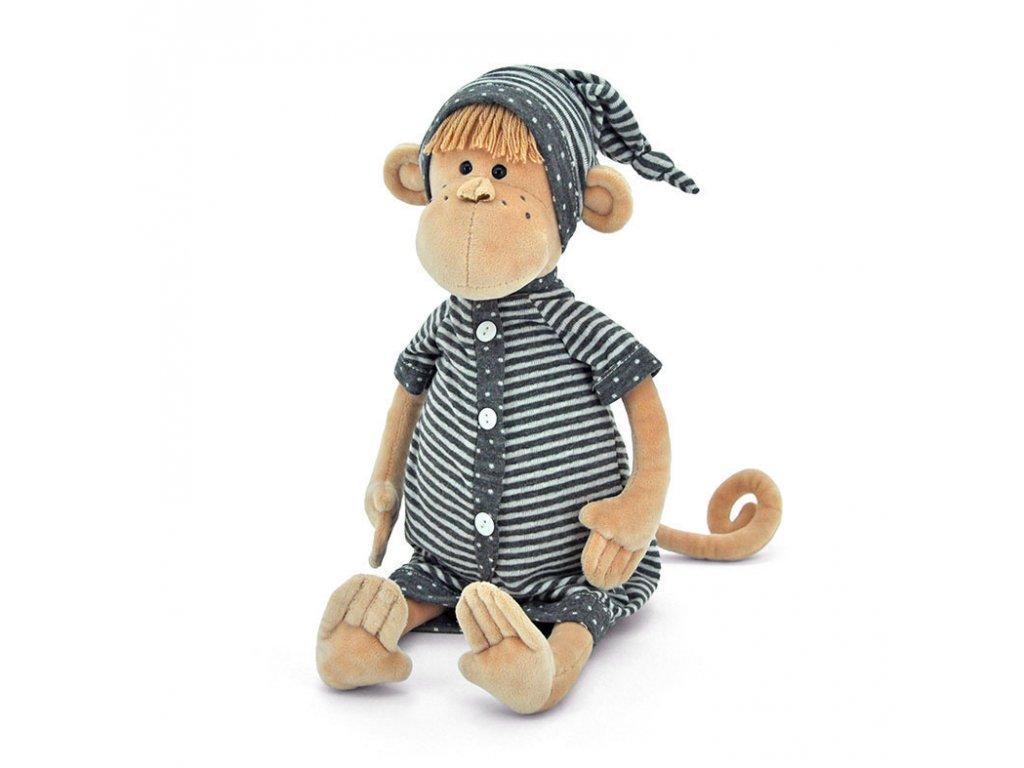 Orange TOYS Opička JONAS BABY velká (25 cm sedící/35 cm) v dárkové krabici