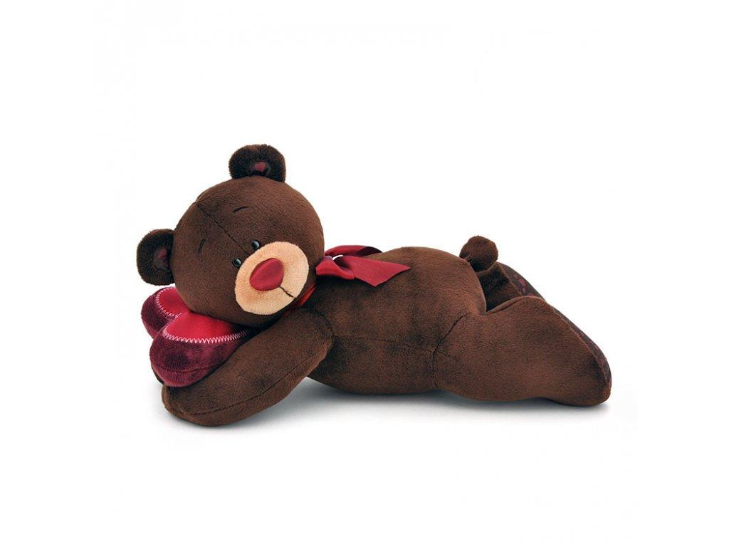 Medvídek CHOCO ležící (30 cm)
