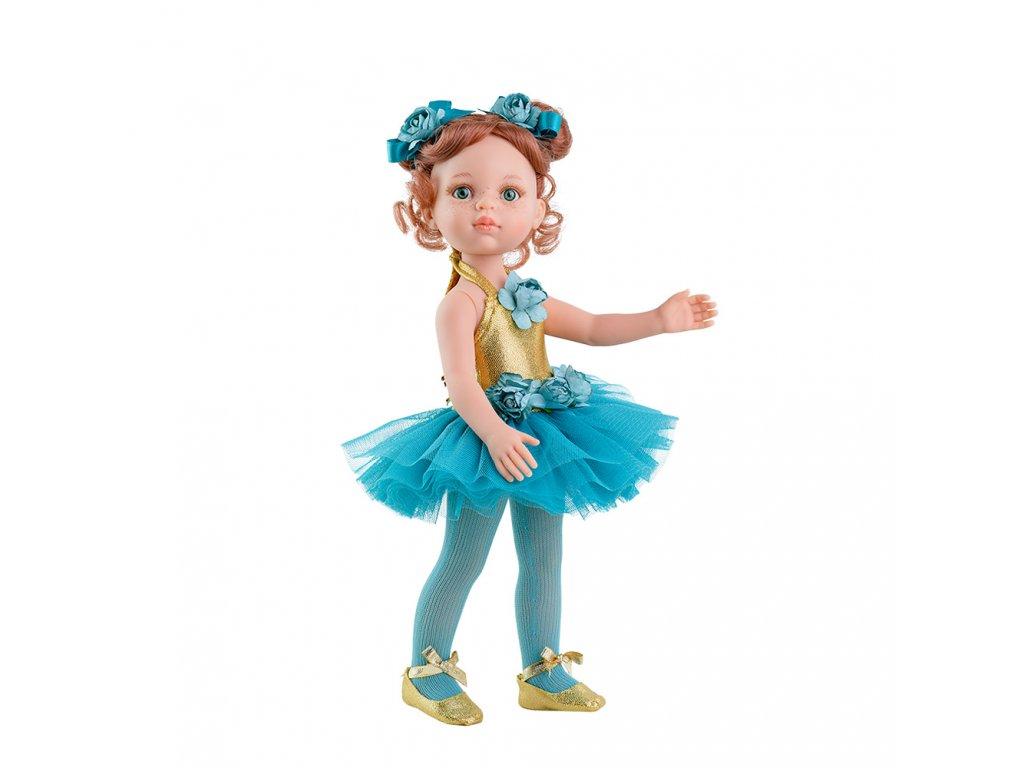 Panenka - modrá baletka Cristi