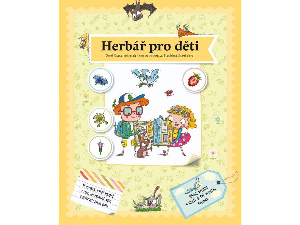 ALBATROS Herbář pro děti - Oldřich Růžička