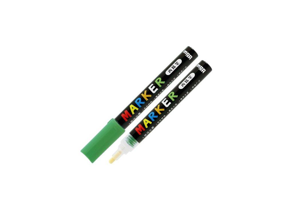 Popisovač M & G Acrylic Marker 2 mm akrylový, Gree
