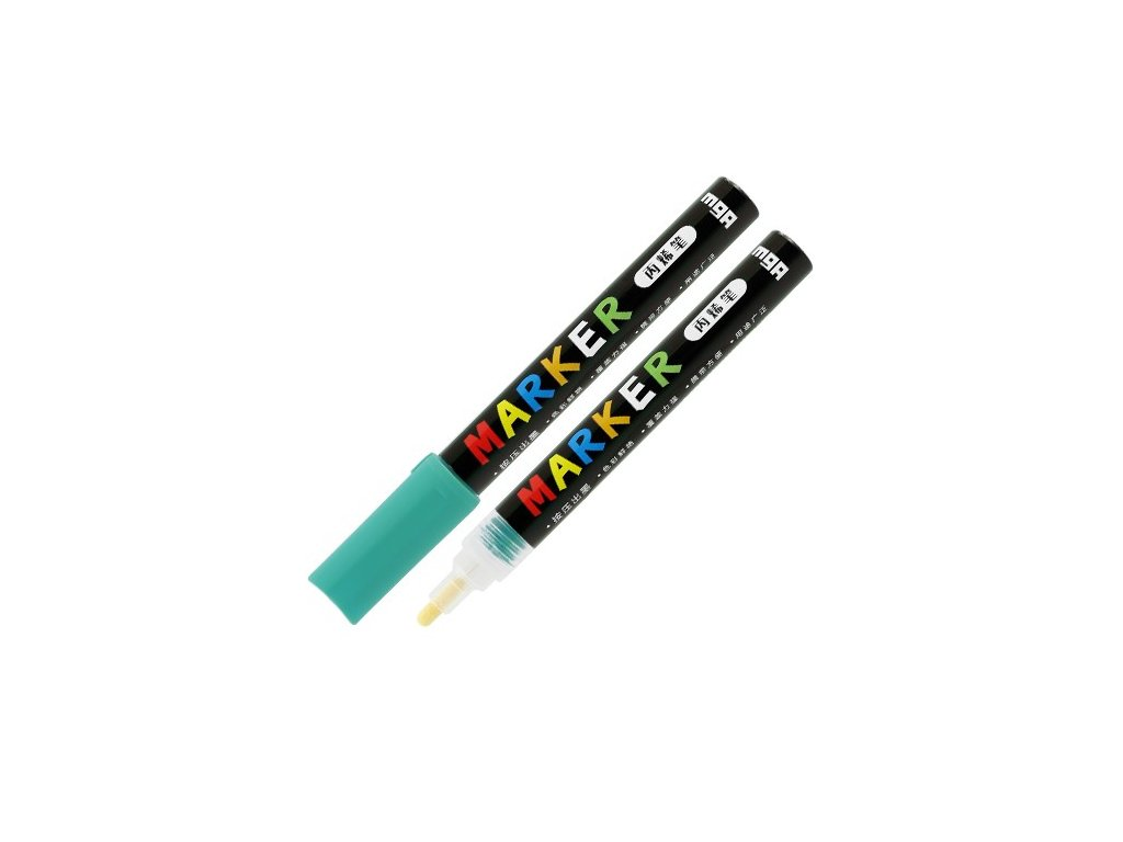 Popisovač M & G Acrylic Marker 2 mm akrylový, Blue