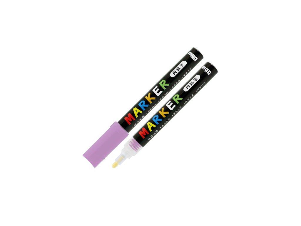 Popisovač M & G Acrylic Marker 2 mm akrylový, Ligh
