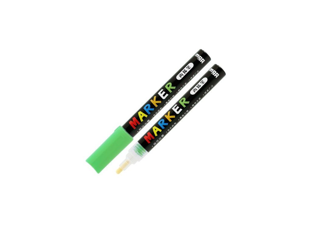 Popisovač M & G Acrylic Marker 2 mm akrylový,Neon