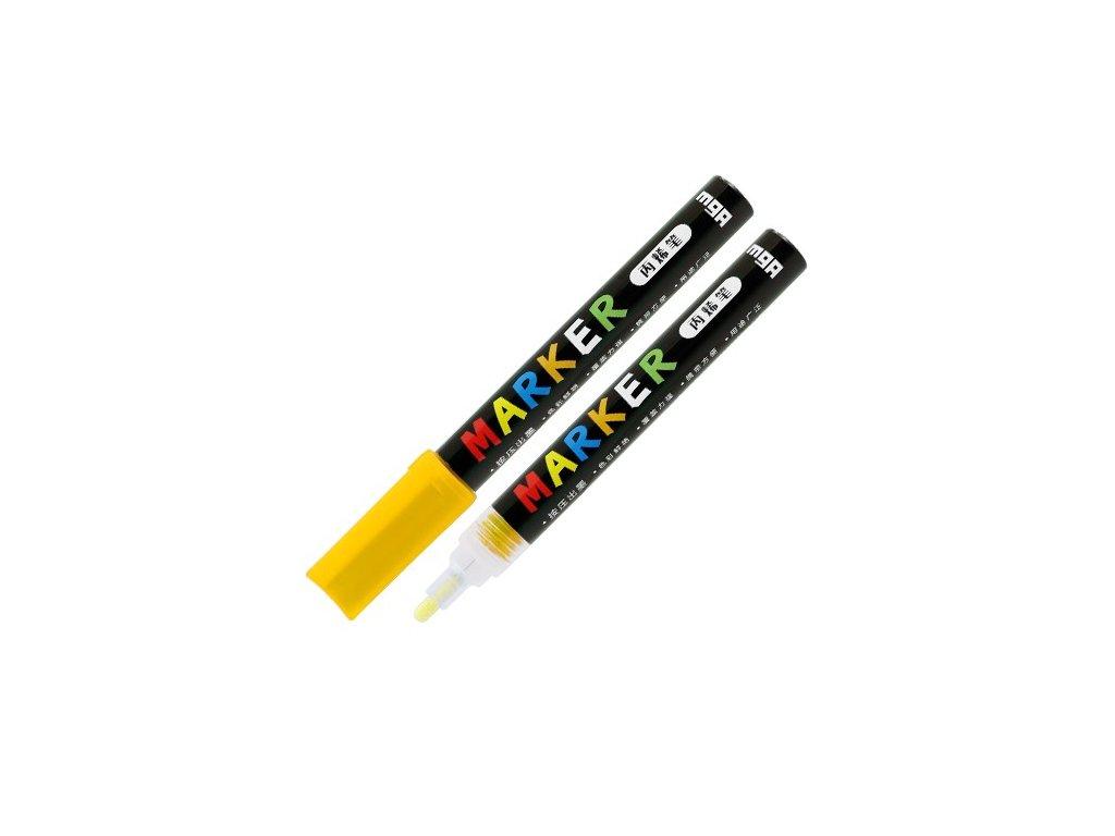 Popisovač M & G Acrylic Marker 2 mm akrylový,Light