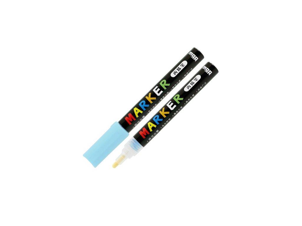Popisovač M & G Acrylic Marker 2 mm akrylový,Aquam