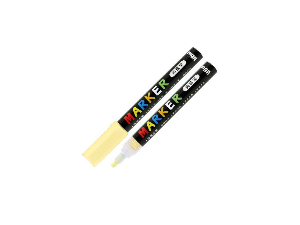 Popisovač M & G Acrylic Marker 2 mm akrylový,Naple