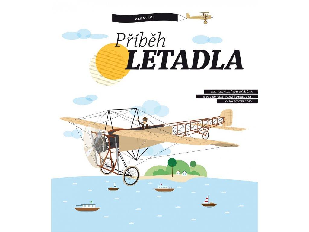 B4U Publishing Příběh letadla - Oldřich Růžička