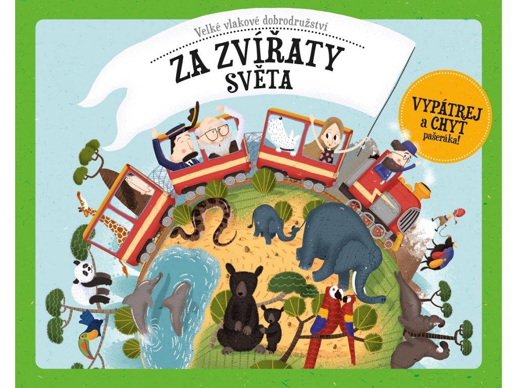 ALBATROS Velké vlakové dobrodružství za zvířaty světa - Štěpánka Sekaninová