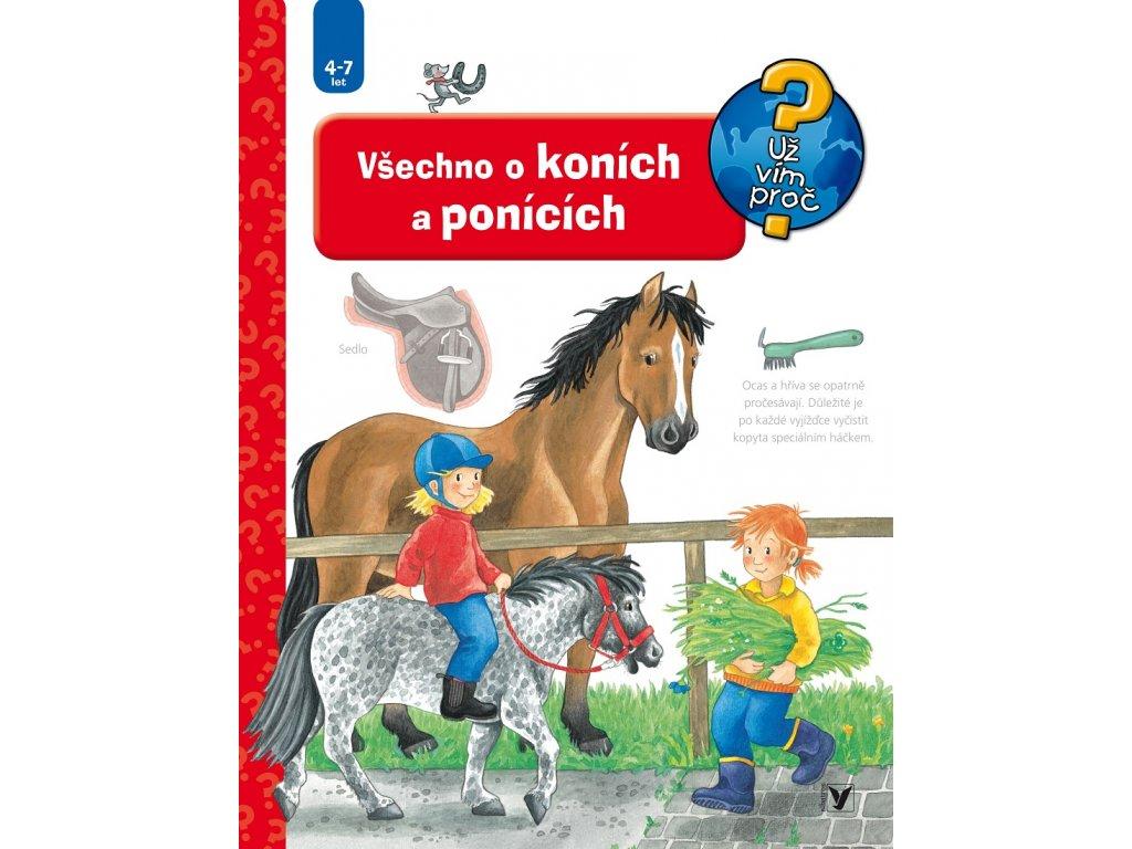 ALBATROS Všechno o koních a ponících - Irmgard Eberhard
