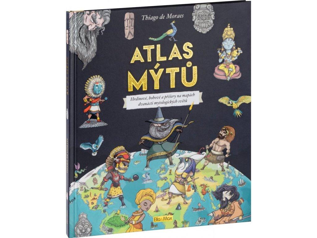 PRESCO GROUP ATLAS MÝTŮ – Mytický svět bohů