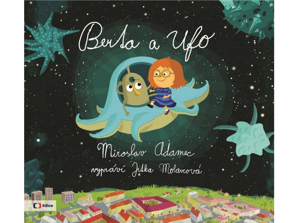 ALBATROS Berta a Ufo (audiokniha pro děti) - Miroslav Adamec