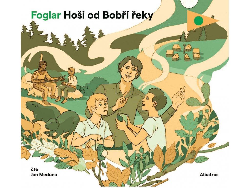 ALBATROS THoši od Bobří řeky (audiokniha pro děti) - Jaroslav Foglar