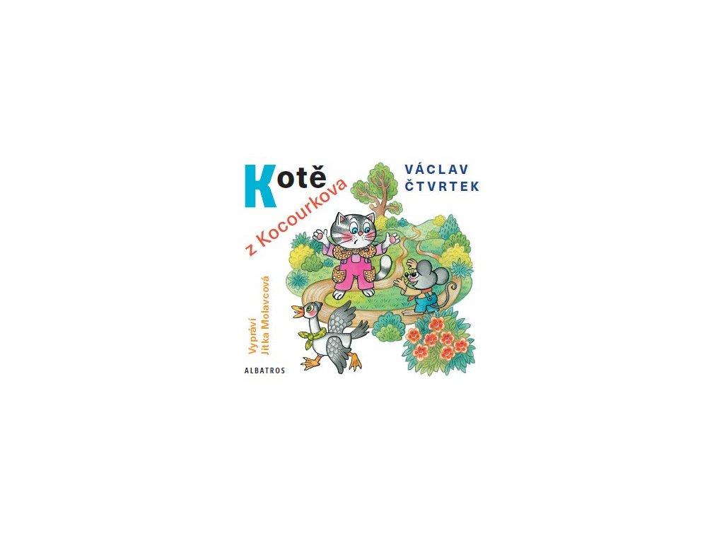 ALBATROS Kotě z Kocourkova (audiokniha pro děti)