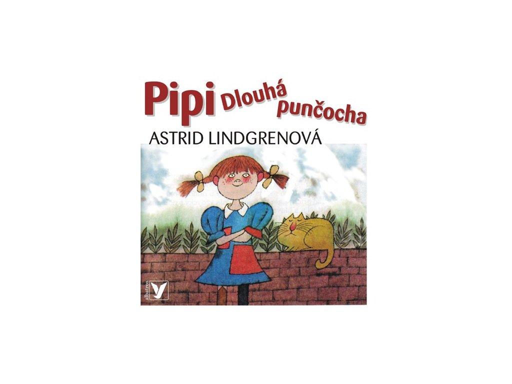 ALBATROS Pipi Dlouhá punčocha (audiokniha pro děti) - Astrid Lindgrenová