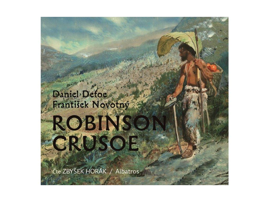 ALBATROS Robinson Crusoe (audiokniha pro děti) - Daniel Defoe