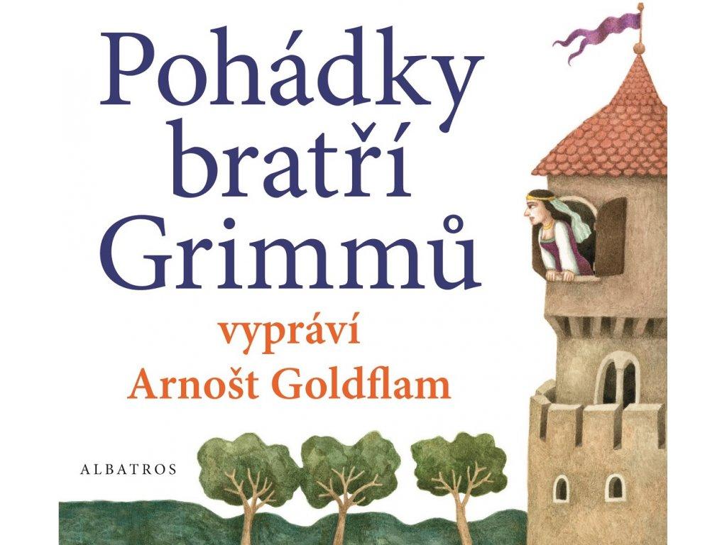 ALBATROS Pohádky bratří Grimmů vypráví Arnošt Goldflam (audiokniha pro děti) -  bratři Grimmové, Rad
