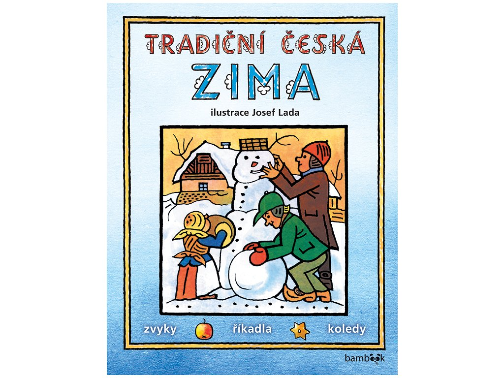 GRADA Tradiční česká zima – Josef Lada