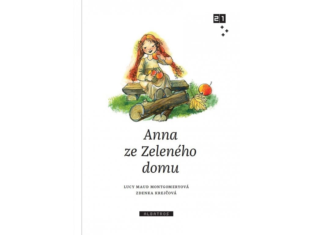 ALBATROS Anna ze Zeleného domu - Lucy Maud Montgomeryová