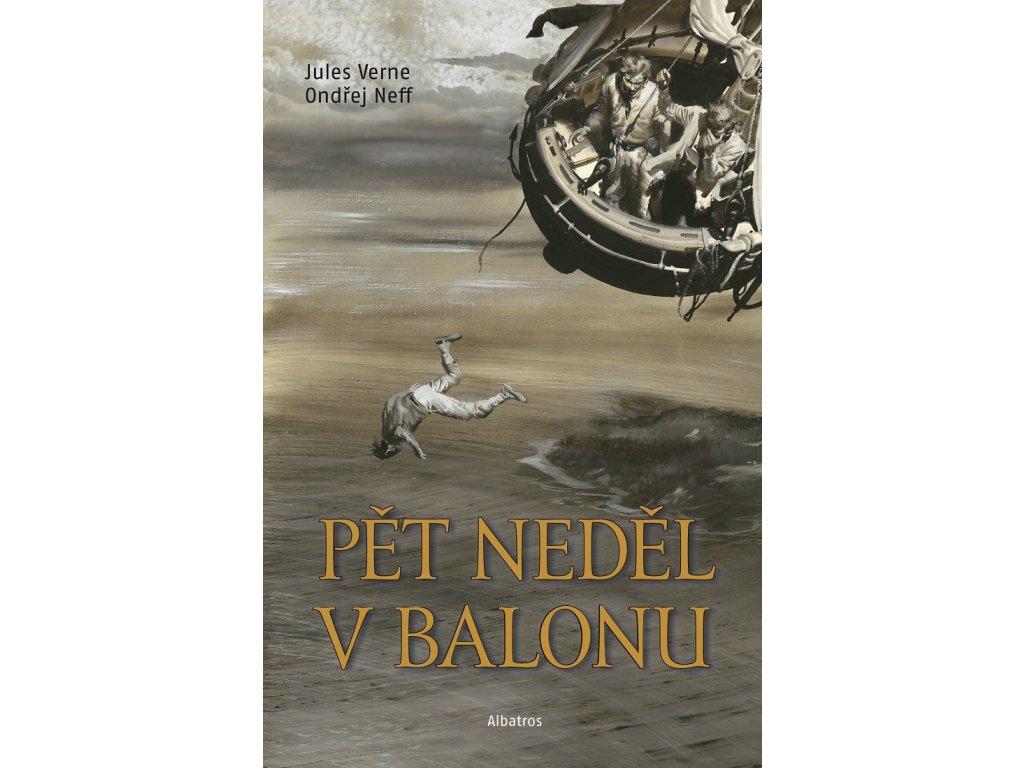 ALBATROS Pět neděl v balonu -  Jules Verne, Ondřej Neff