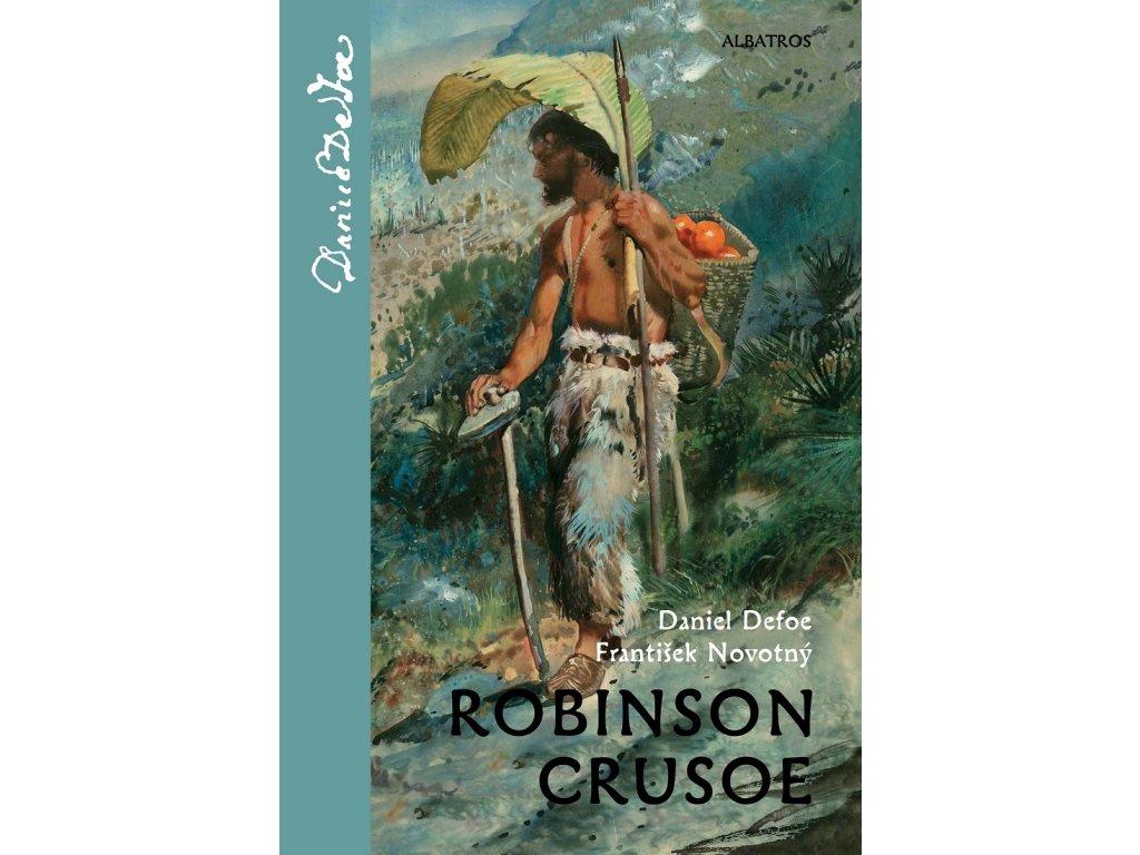 ALBATROS Robinson Crusoe - Daniel Defoe,  František Novotný