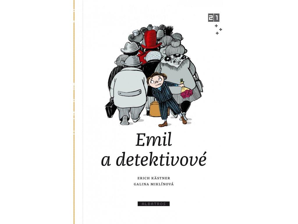 ALBATROS Emil a detektivové - Erich Kästner