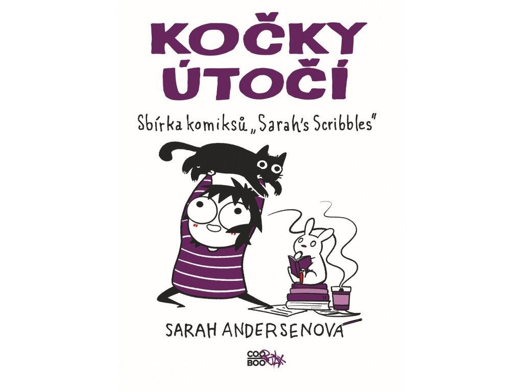 COOBOO Kočky útočí - Sarah Andersenová