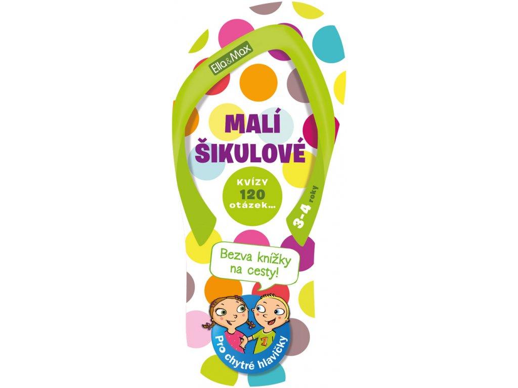 Ella&Max MALÍ ŠIKULOVÉ, 3-4 roky – Kvízy na cesty