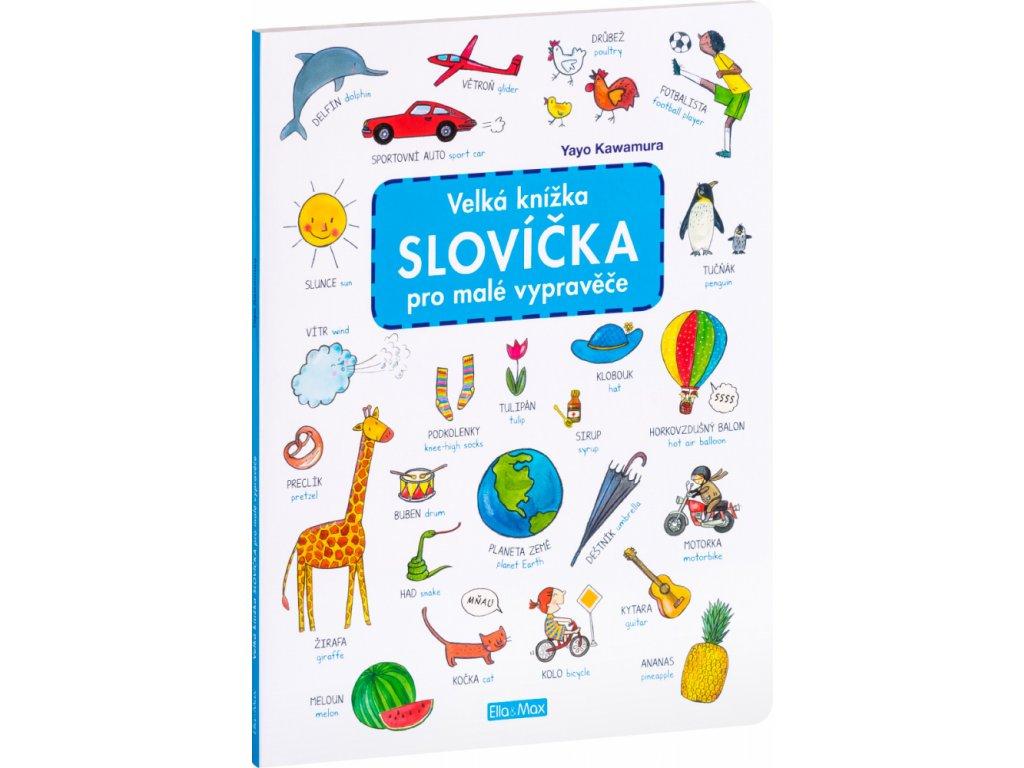 PRESCO GROUP Velká knížka OBRZKY&SLOVÍČKA pro malé vypravěče