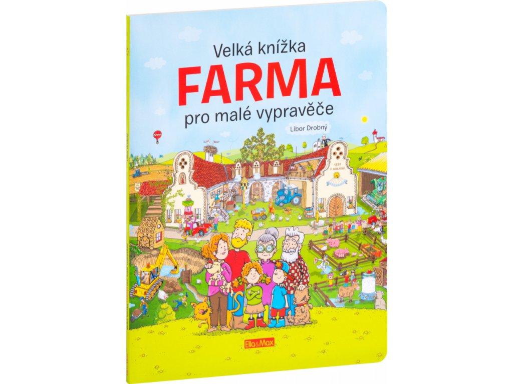 PRESCO GROUP Velká knížka FARMA pro malé vypravěče
