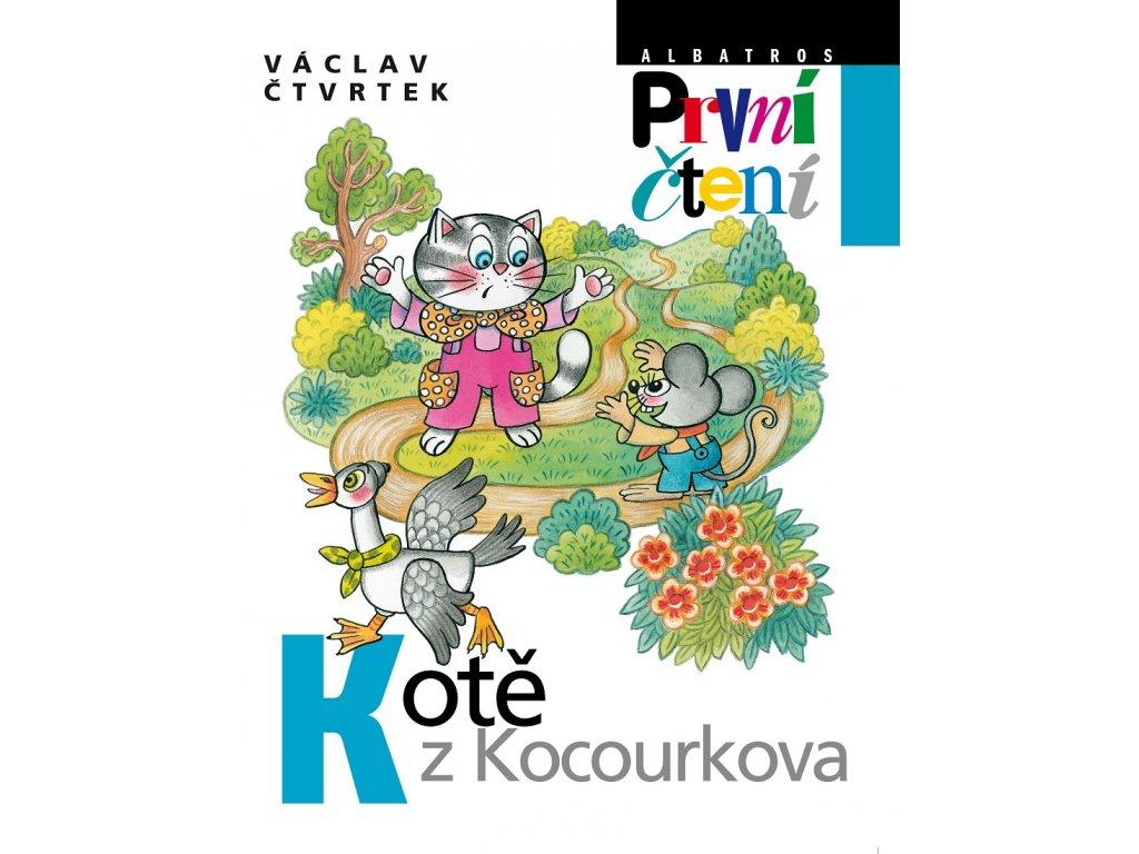 ALBATROS Kotě z Kocourkova - Václav Čtvrtek