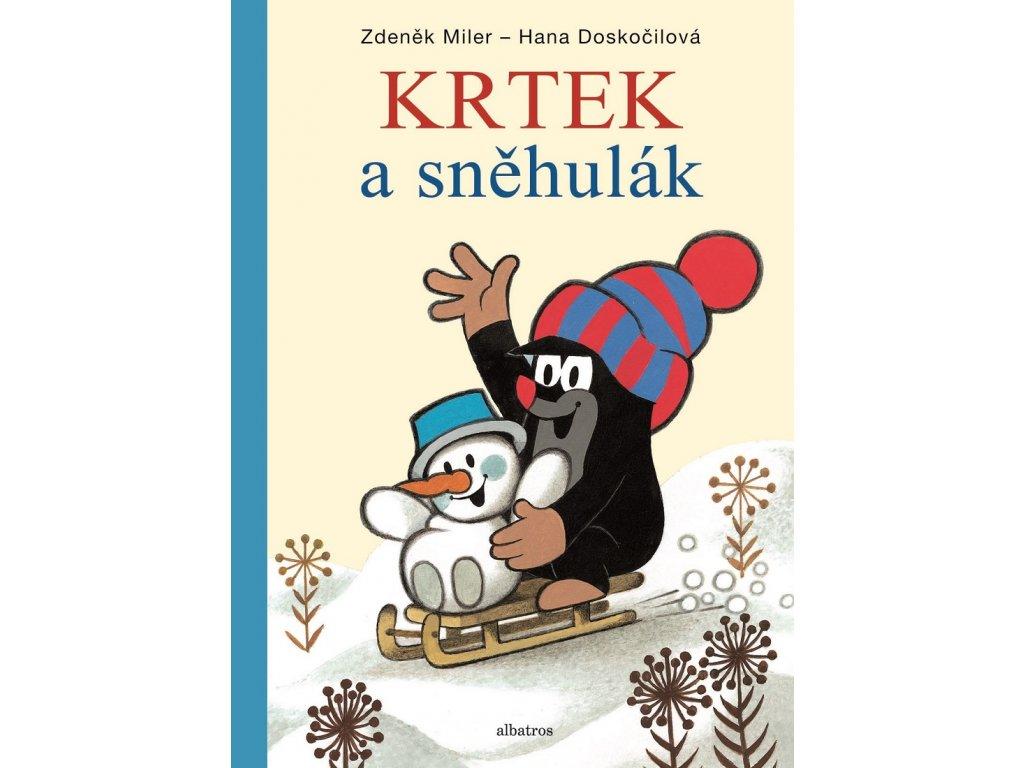 ALBATROS Krtek a sněhulák - Hana Doskočilová