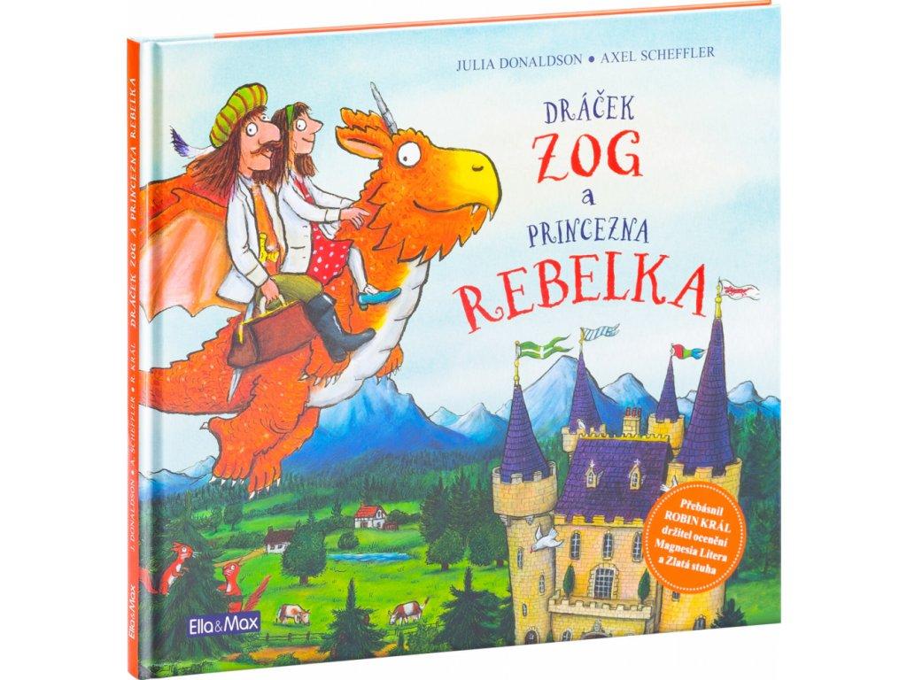 PRESCO GROUP Dráček ZOG a princezna REBELKA