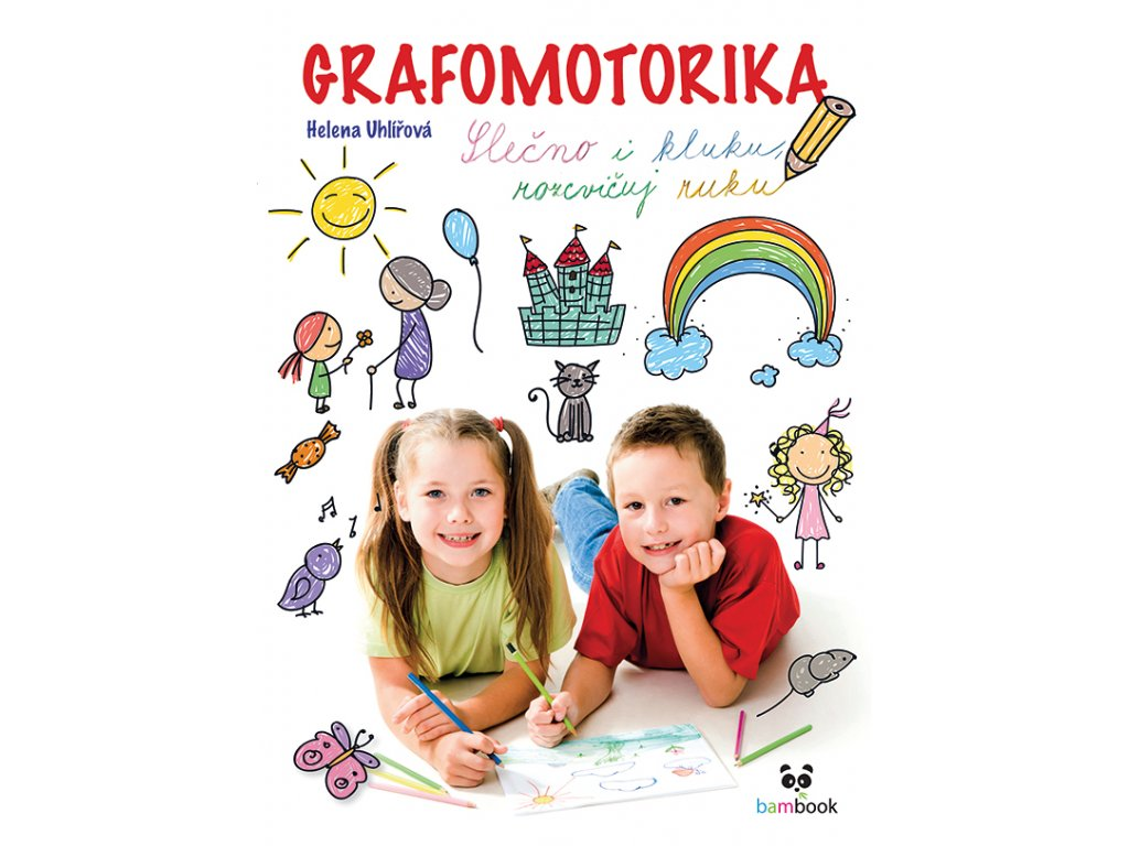 GRADA Grafomotorika - Slečno i kluku, rozcvičuj ruku!