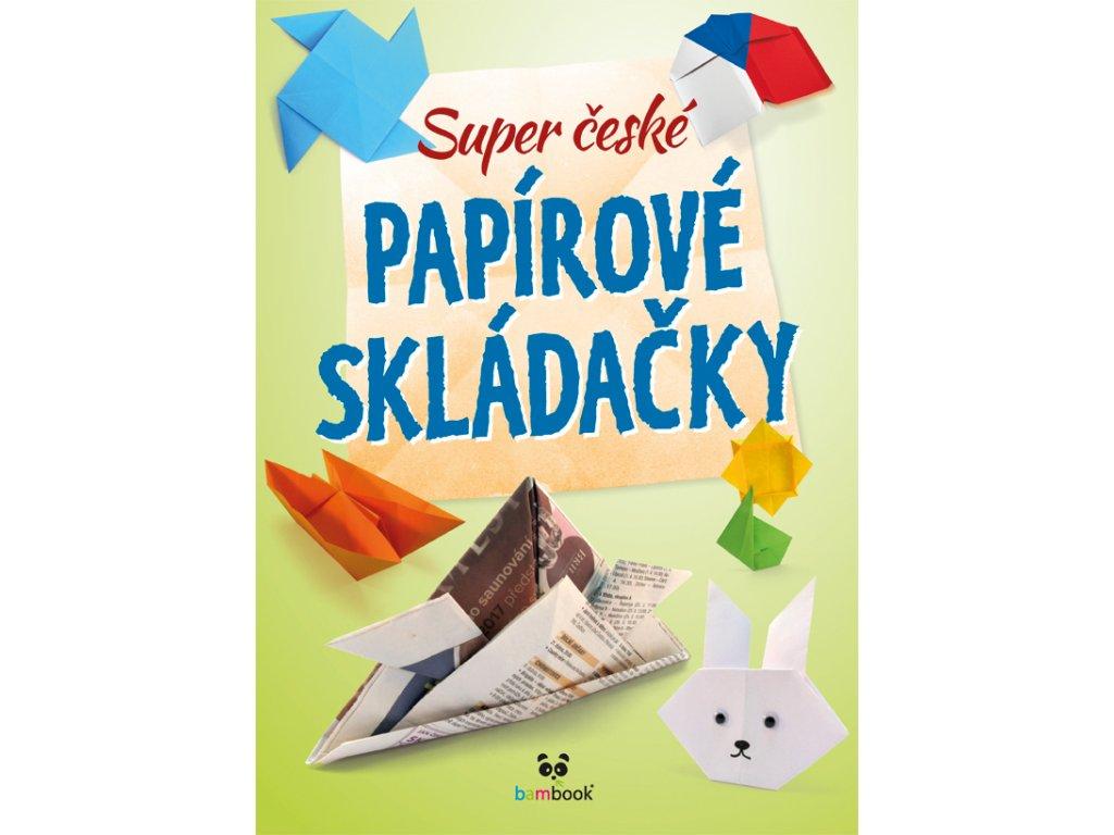 GRADA Super české papírové skládačky