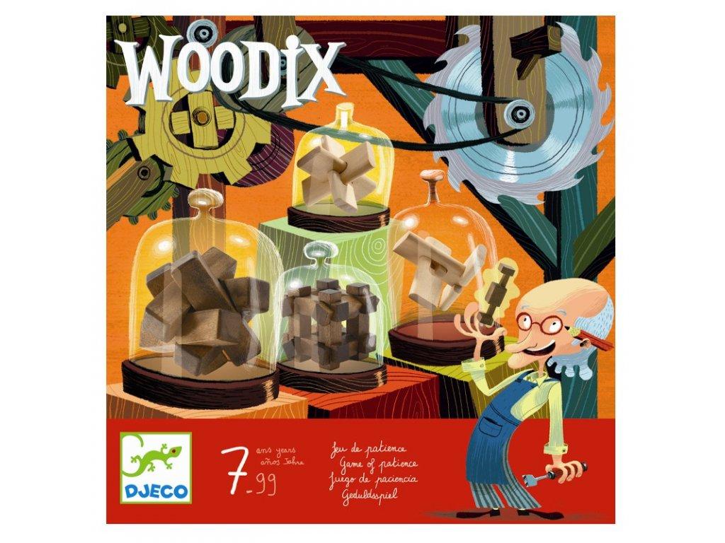 DJECO Hlavolamy Woodix 6ks